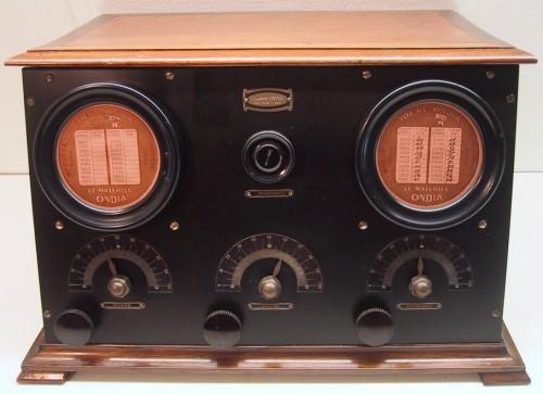 Ondia Type 4 lampes intérieures 1924 Serienummer 706
