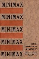 Minimax reclame 1925