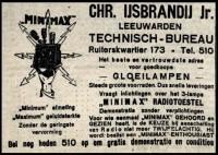 Advertentie in de Leeuwarder Courant 1926