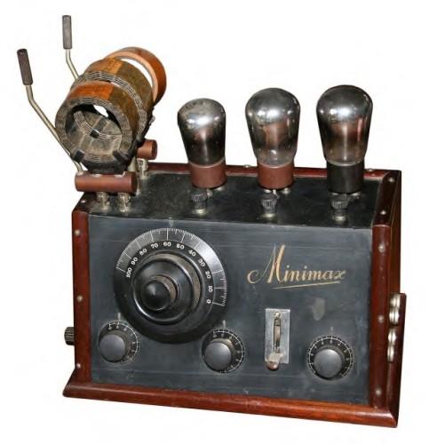 Minimax ontvanger O.V.3. uit 1925