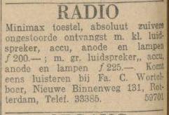 27-6-1926 De Maasbode