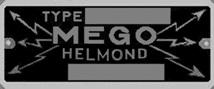 MEGO typeplaatje