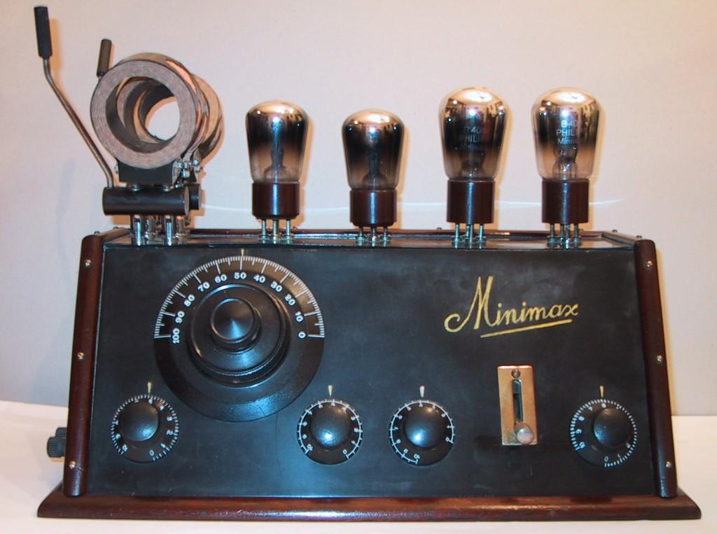 Minimax type O.V.B.4 Uit de verzameling van F Donkers