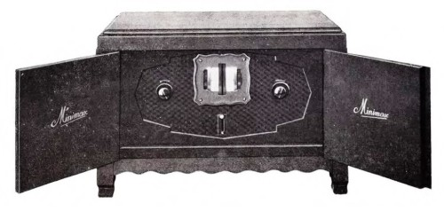 Minimax H.O.V.4i, 4-lamps ontvanger ca. 1928